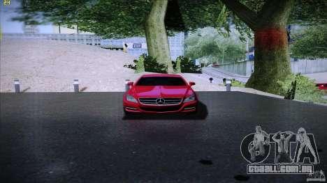 Mercedes Benz CLS 350 2011 para GTA San Andreas vista direita
