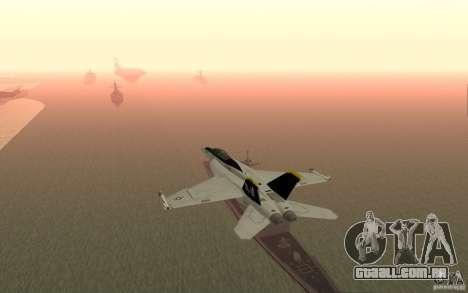 CSG-11 para GTA San Andreas segunda tela