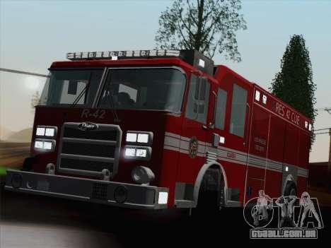 Pierce Contender LAFD Rescue 42 para o motor de GTA San Andreas