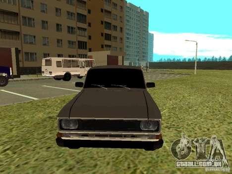 2140 Moskvich para GTA San Andreas esquerda vista