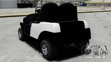 Caddy Unity para GTA 4 traseira esquerda vista