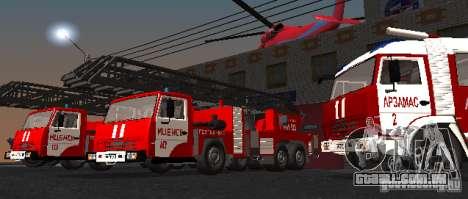 KAMAZ 53229 para GTA San Andreas vista direita