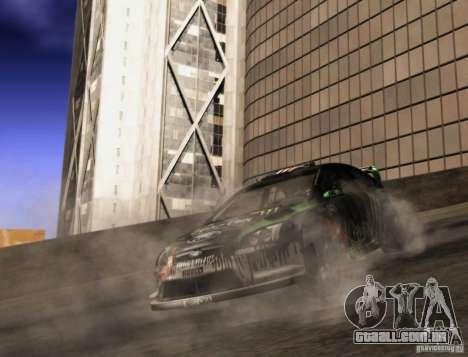 Ford Focus RS 2000 para GTA San Andreas vista direita