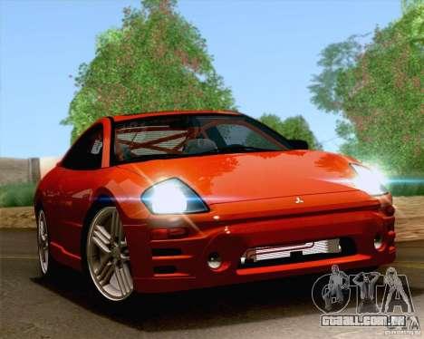Mitsubishi Eclipse GTS 2003 para GTA San Andreas vista interior