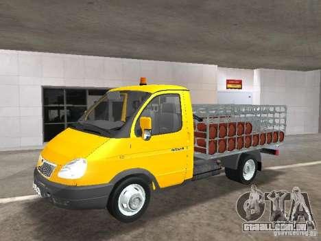 GAZ 3302 Balonovoz para GTA San Andreas
