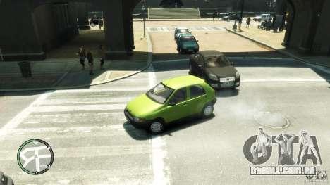 Fiat Palio para GTA 4 traseira esquerda vista