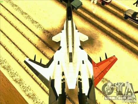 ADFX-02 Morgan para GTA San Andreas vista direita