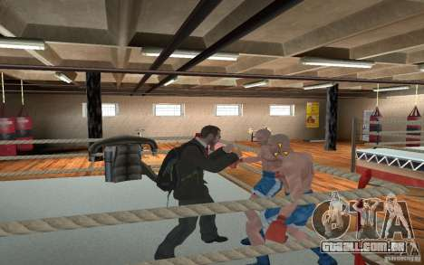 The combat system from GTA IV para GTA San Andreas quinto tela