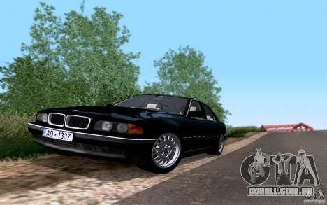 BMW 730i E38 para GTA San Andreas vista direita