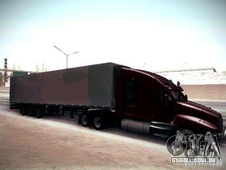 Kenworth T2000 V 2.7 para GTA San Andreas vista traseira