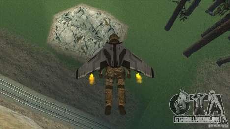 JetWings Black Ops 2 para GTA San Andreas segunda tela