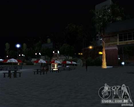Modern beach in Los-Santos para GTA San Andreas quinto tela