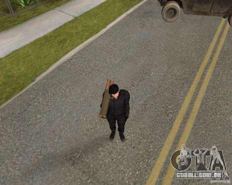Jason Statham para GTA San Andreas quinto tela