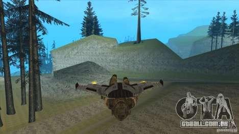JetWings Black Ops 2 para GTA San Andreas sétima tela