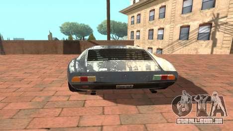 Lamborghini Miura P400 SV 1971 V1.0 para GTA San Andreas vista direita