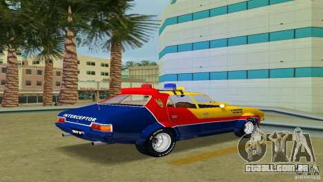 Ford Falcon 351 GT Interceptor para GTA Vice City deixou vista