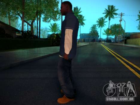 Franklin para GTA San Andreas terceira tela