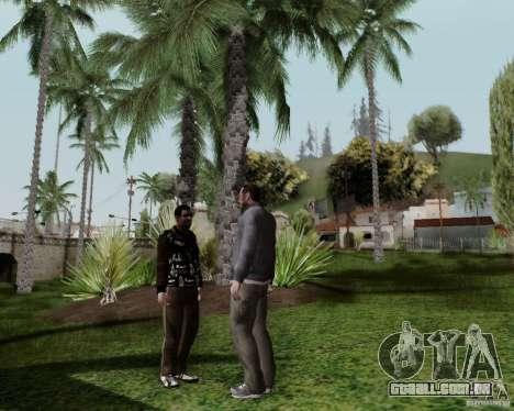 Roman para GTA San Andreas por diante tela