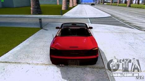 Nissan Silvia S15 Varietta para GTA San Andreas vista traseira