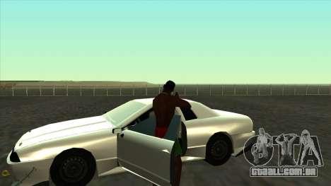Elegy Roportuance para GTA San Andreas vista traseira