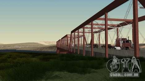A nova ponte de LS-LV para GTA San Andreas terceira tela
