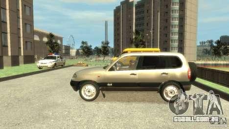 Chevrolet Niva para GTA 4 esquerda vista