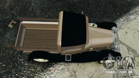 Ford Model A Pickup 1930 para GTA 4 vista direita