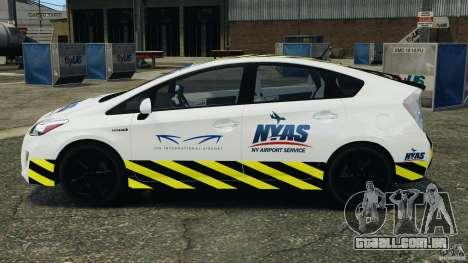 Toyota Prius NY Airport Service para GTA 4 esquerda vista