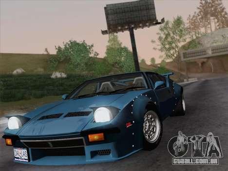 De Tomaso Pantera GT4 para GTA San Andreas vista direita