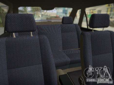 Daewoo-FSO Polonez Atu Plus 1.6 para GTA San Andreas vista interior
