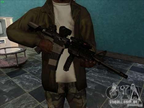 MK-18 US Navy Style para GTA San Andreas segunda tela