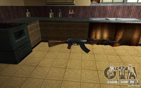 AK-47 do jogo Left 4 Dead para GTA San Andreas