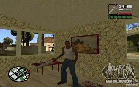 Serra para GTA San Andreas por diante tela