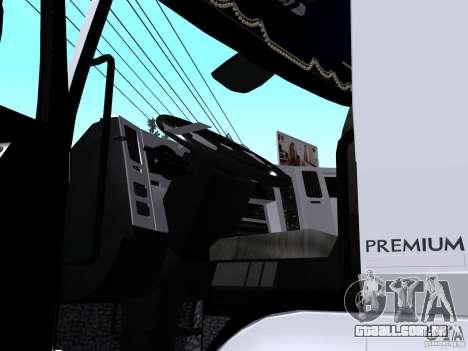 Renault Premium Mixer para GTA San Andreas vista traseira