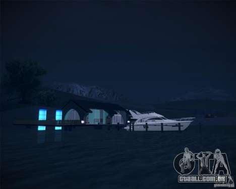 Beach House para GTA San Andreas terceira tela