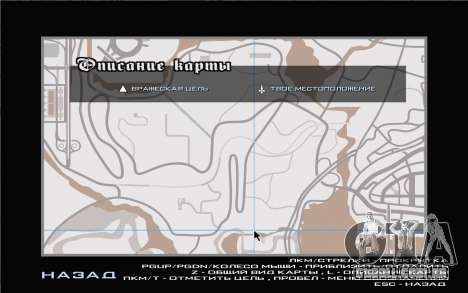 GTA V map para GTA San Andreas terceira tela