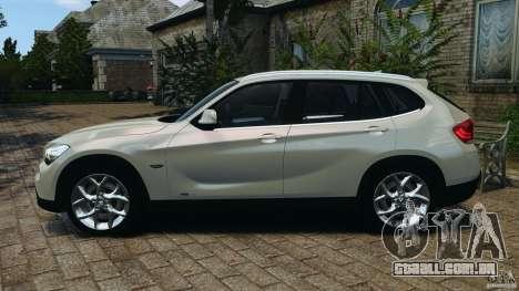 BMW X1 para GTA 4 esquerda vista
