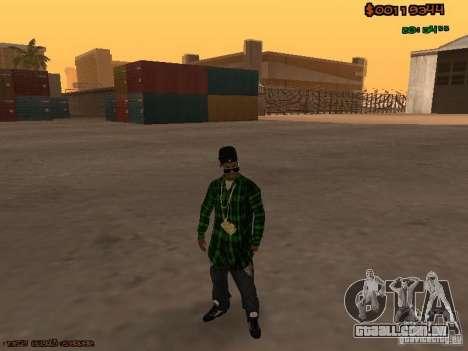 Grove Street Family para GTA San Andreas segunda tela