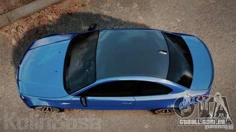 BMW 1M 2011 Carbon para GTA 4 vista direita