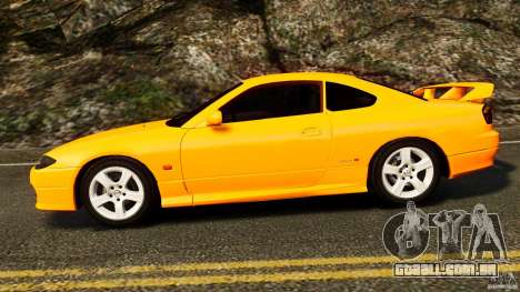 Nissan Silvia S15 Stock para GTA 4 esquerda vista