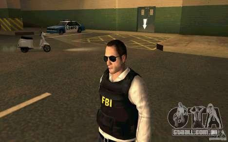 FBI HD para GTA San Andreas