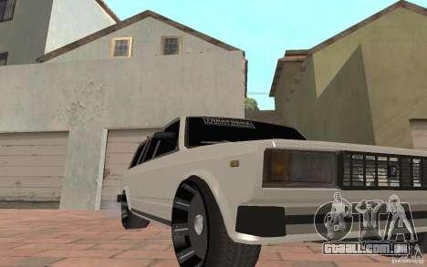 VAZ 2104 para GTA San Andreas interior