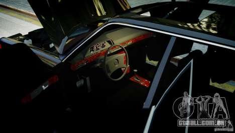Mercedes-Benz 560 SEL Black Edition para GTA 4 traseira esquerda vista