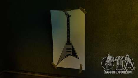 Novos posters no primeiro apartamento para GTA 4 sétima tela