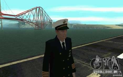 Admiral HD para GTA San Andreas terceira tela