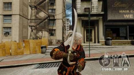 Espada do Witcher v2 para GTA 4