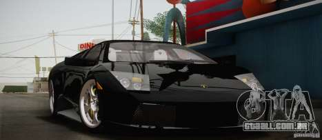 Lamborghini Murcielago 2002 v 1.0 para GTA San Andreas vista interior