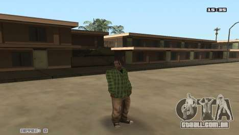Skin Pack Groove Street para GTA San Andreas terceira tela