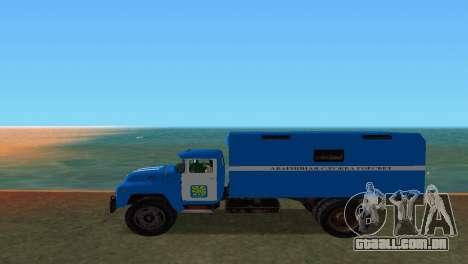 ZIL 130 para GTA Vice City deixou vista