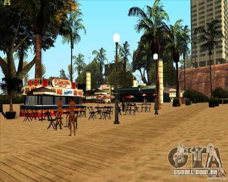 Modern beach in Los-Santos para GTA San Andreas terceira tela